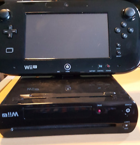 Nintendo Wii U console - With Mario Kart 8 Installed