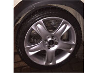 17 inch 4x100 alloy wheels off MINI cooper S