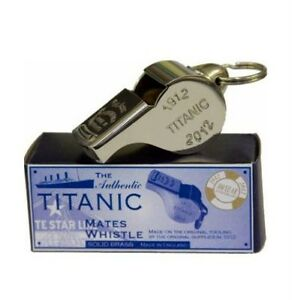 RMS Titanic Thunderer 100 Years Commemorate Mates Whistle