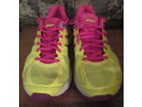 Asics Ladies Trainers Run Gym Sport