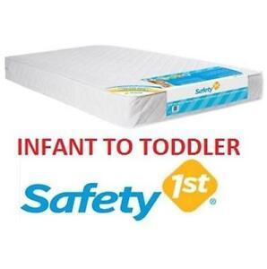 NEW SAFETY 1ST INFANT TO TODDLER MATTRESS Baby, Kids  Toys Nursery Furniture  Decor Crib Mattresses 108729708