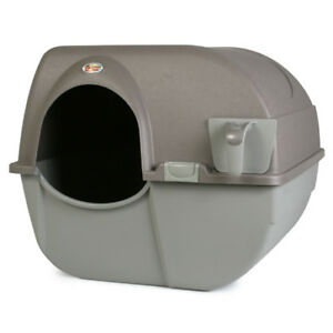 Omega Paw LARGE Self-Cleaning Litterbox