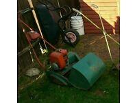 Suffolk petrol lawn mowers