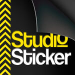 Studio-Sticker
