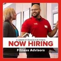 Now Hiring - Sales (Fitness Advisors) - Hamilton & Burlington