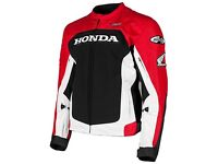 Honda Motorbike Leather Racing Jacket