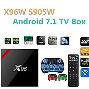 ★ X96 ULTRA 4K ★ ANDROID 7.1 TV BOX ★ IPTV  ★ONE MONTH FREE