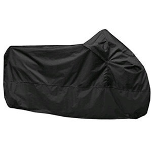 Black Motorcycle Cover