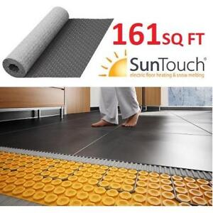 NEW SUNTOUCH FLOOR MEMBRANE 213803304 161SQ FT UNCOUPLING HEATED ELECTRIC FLOOR