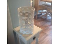 Shabby Chic Butterfly Lamp