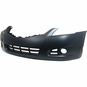 2012 Nissan Altima New Bumper Cover Facial Front Primered Sedan