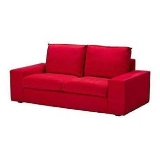 Igbo Red Kivik 2 Seat/love Seat COVER ONLY