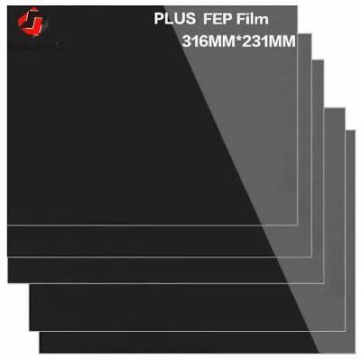 10 Pieces FEP Sheet Film Photon 3D Printer 0.15-0.2mm Fep film 316x231mm S400