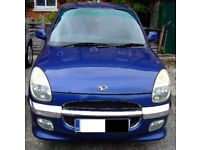 Daihatsu Sirion SL - 2001 - Nippy little car, - runs well and has been very reliable - Surrey