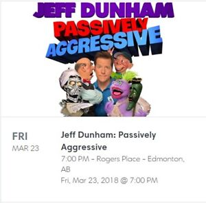 Jeff Dunham Aggressively Passive REDUCED!!!  Must go!