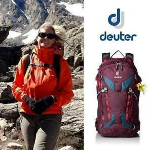 NEW DEUTER WOMEN'S 28 SL BACKPACK 330331750260 231507866 FREERIDER PRO MAROON