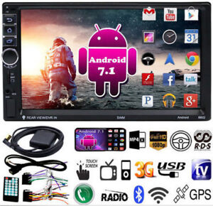 "Radio auto 2 din écran 7"" Android 7.1 - Mp5 player - Bluetooth -"