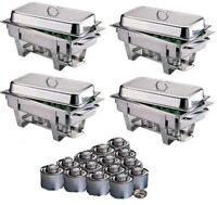 Chafing Dish (round and rectangle ) Rental(free Gel)