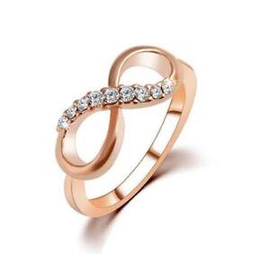 Golden infinity ring