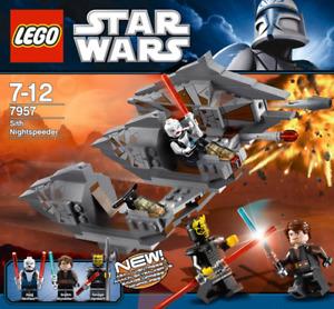 LEGO 7957 sith nightspeeder
