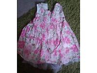 Girls lovely Next flowery dress