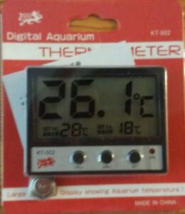 Aquarium accessories: Digital Aquarium Thermometer 15$/each