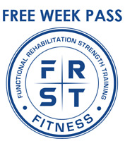 FREE WEEK PASS. Classes + Open gym. Come see the FRST difference