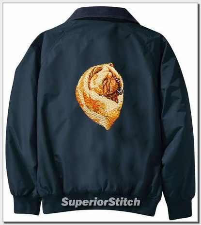 CHOW embroiderd Challenger jacket ANY COLOR B