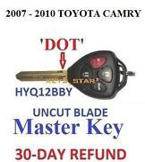 2007 Toyota Camry Key