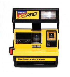 Polaroid JobPro Construction Yellow