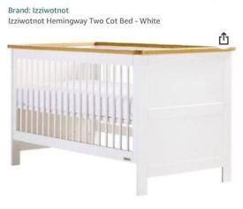 Free - Izziwotnot Cot/Cot bed