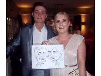 Caricaturist in East Midlands