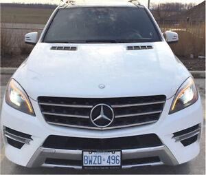 White ML350 1year lease LEFT, 30k milage, 2015 Mercedes Benz SUV