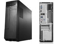 Lenovo H30-00 Intel Pentium(R) J2900 2.41GHz 4GB 1TB Windows 10 Desktop - Black, Desktop PC.