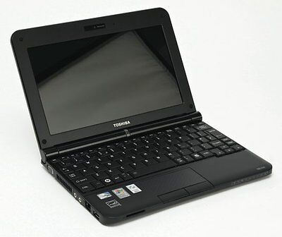 """Toshiba NB250 10.1"""" Intel Atom 2 GB Ram 80 GB HDD Webcam WIFI Windows 7"""