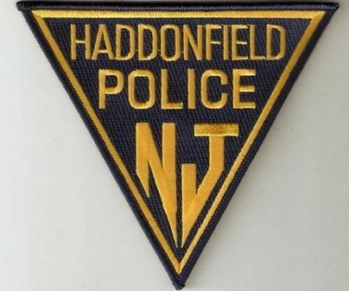 HADDONFIELD NEW JERSEY NJ POLICE DEPT TRI SHAPE (FIRE) HPD PD LAW ENCORCEMENT