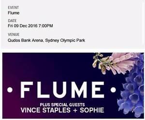 Flume GA Tickets x 2 – Friday 9th December - Sydney Erskineville Inner Sydney Preview