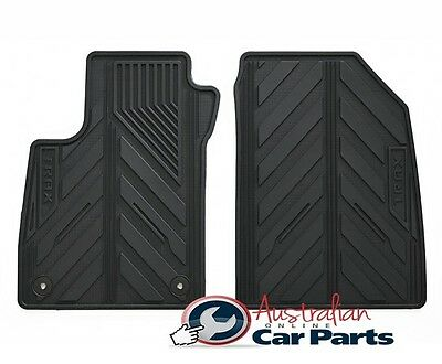 HOLDEN TRAX Floor Mats Rubber Brand New Genuine All Weather 2013 2017 42364952