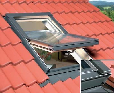 Dachfenster OPTILIGHT 78x118 + Eindeckrahmen