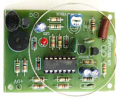 Touch Switch with Alarm Door Knob Project DIY kit 9VDC [ Assembled kit ]