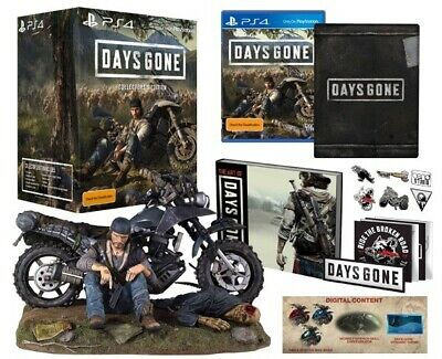 Days Gone Collector's Edition PS4 Steelbook + Statue + Book + Pins PREORDER 4/26