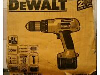 Dewalt DW912 XR2 12v 2.0AH 13mm chuck with 2 batteries and the charger brand new