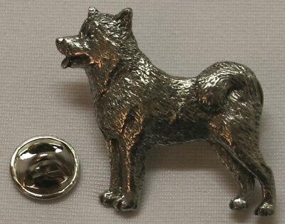 Alaskan Malamute Jewelry (Alaskan Malamute Dog Fine PEWTER PIN Jewelry Art USA)