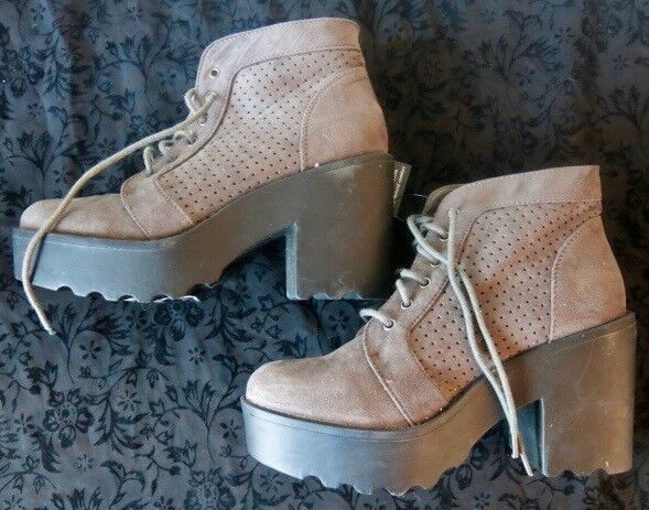 Winter Warm Grey Ankle Boots