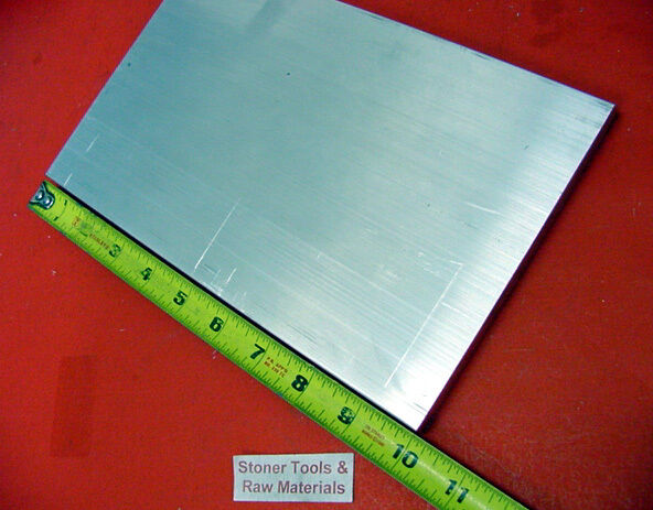 "1"" X 8"" X 10"" ALUMINUM 6061 FLAT BAR SOLID T6511 New Extruded Mill Stock"