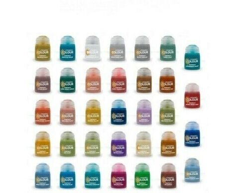 Citadel Warhammer Colour Contrast Paints 18 ml - All 34 Paints available!