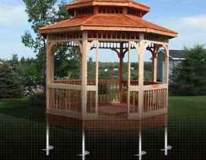 Postech Screw Pile Footings For Decks, Additions, Sunrooms! Windsor Region Ontario image 6
