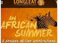 Longleat safari park 23rd of August