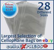 4 x 4 Cello Bags