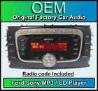 Sony Radios für Ford Transiten